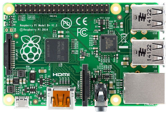 Pictorial Buying Guide for the Raspberry PiRaspberry Pi B+ top.jpg